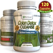 1-Dual-Action-COLON-DETOX-CLEANSE-120-Capsules-Best-Ultimate-Intensive-Herbal-Supplement-Formula-for-Weight-Loss-Support-Total-Cleansing-Flushes-Toxins-Eliminates-Waste-0
