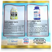 95-HCA-Garcinia-Colon-Detox-Cleanse-Combo-Pack-2-Most-Potent-Weight-Loss-Supplements-Pure-Cambogia-Extract-Slim-And-Max-Strength-Cleanser-Diet-Pills-To-Reduce-Appetite-Block-Fat-0-4