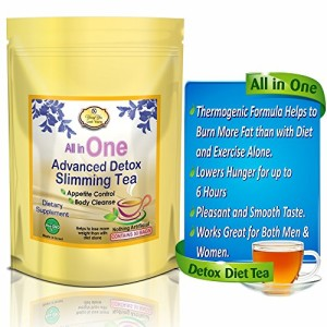 All-in-One-Delicious-Detox-Tea-Fast-Weight-Loss-Tea-Detox-Cleanse-Appetite-Control-Highest-Quality-Kosher-Certified-BEST-Detox-Diet-Tea-0