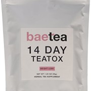 Baetea-Weight-Loss-Tea-Detox-Body-Cleanse-Reduce-Bloating-Appetite-Suppressant-14-Day-Teatox-with-Potent-Traditional-Organic-Herbs-Ultimate-Way-to-Calm-and-Cleanse-Your-Body-0-0