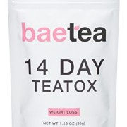 Baetea-Weight-Loss-Tea-Detox-Body-Cleanse-Reduce-Bloating-Appetite-Suppressant-14-Day-Teatox-with-Potent-Traditional-Organic-Herbs-Ultimate-Way-to-Calm-and-Cleanse-Your-Body-0