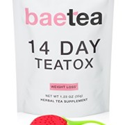 Baetea-Weight-Loss-Tea-Detox-Body-Cleanse-Reduce-Bloating-Appetite-Suppressant-14-Day-Teatox-with-Potent-Traditional-Organic-Herbs-Ultimate-Way-to-Calm-and-Cleanse-Your-Body-0-5
