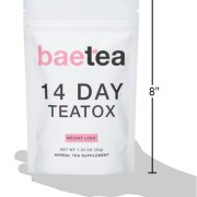 Baetea-Weight-Loss-Tea-Detox-Body-Cleanse-Reduce-Bloating-Appetite-Suppressant-14-Day-Teatox-with-Potent-Traditional-Organic-Herbs-Ultimate-Way-to-Calm-and-Cleanse-Your-Body-0-6
