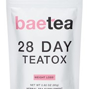 Baetea-Weight-Loss-Tea-Detox-Body-Cleanse-Reduce-Bloating-Appetite-Suppressant-28-Day-Teatox-with-Potent-Traditional-Organic-Herbs-Ultimate-Way-to-Calm-and-Cleanse-Your-Body-0