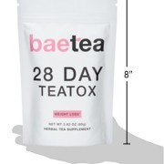 Baetea-Weight-Loss-Tea-Detox-Body-Cleanse-Reduce-Bloating-Appetite-Suppressant-28-Day-Teatox-with-Potent-Traditional-Organic-Herbs-Ultimate-Way-to-Calm-and-Cleanse-Your-Body-0-6