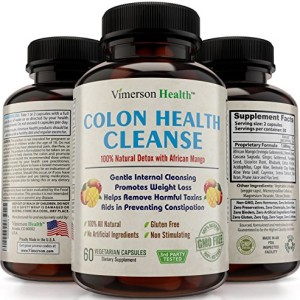 Colon-Detox-Cleanse-Weight-Loss-Supplement-100-All-Natural-Non-Gmo-Gluten-Free-Super-Detox-with-Pure-African-Mango-That-Works-for-Men-and-Women-Gentle-Safe-Effective-and-Great-Cleanser-to-Lose-Weight--0