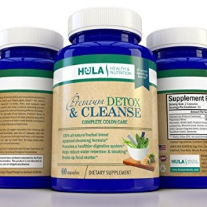 Complete-Detox-and-Colon-Cleanse-The-Perfect-Way-to-Detoxify-Eliminate-Waste-and-Begin-Your-Weight-Loss-Program-100-Natural-Formula-60-Vegetable-Capsules-15-Day-Gentle-Cleansing-Cycle-0