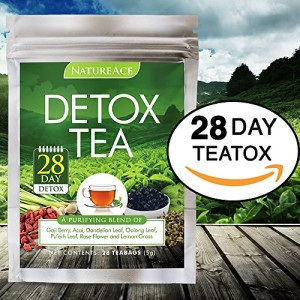 Nature-Ace-28-Day-Detox-Tea-Best-For-Teatox-Body-Cleanse-Bloating-and-Body-Fat-Reduction-Liver-Skin-Detox-Weight-Loss-100-Natural-Organic-Chinese-Herbs-For-Men-Women-Premium-Tea-Bags-0