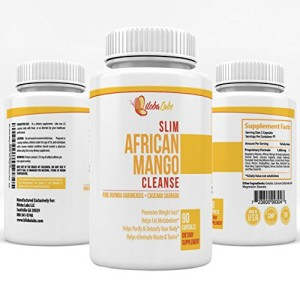 Slim-African-Mango-with-Raspberry-Ketone-Cleanse-for-Weight-Loss-and-Detoxing-Complete-2-in-1-Formula-With-Cascara-Sagrada-and-Many-Others-60-Capsules-0