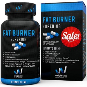 Weight-Loss-Development-Fat-Burner-Diet-Pills-BEST-BUY-120-Capsules-0