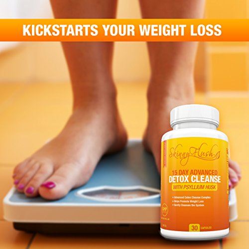 Natural Detox Cleanse For Weight Loss Lose Weight Fast Safe Gentle Colon Cleanse Of Harmful Toxins Parasites Bacteria Gentle Formula With