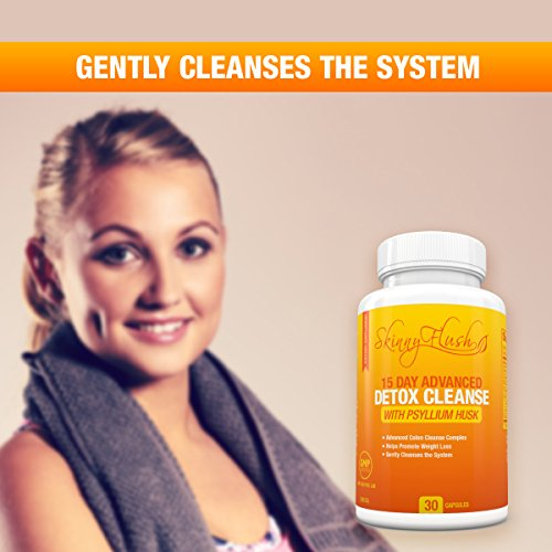 Natural Detox Cleanse For Weight Loss – Lose Weight Fast – Safe & Gentle  Colon Cleanse of Harmful Toxins, Parasites, & Bacteria – Gentle Formula